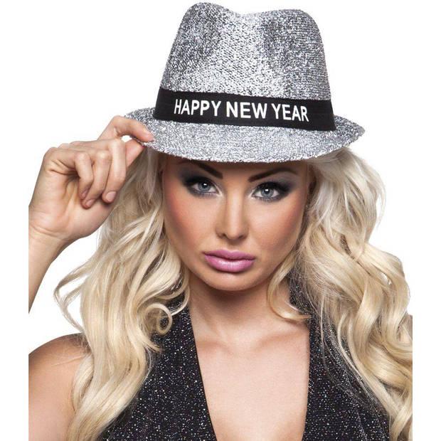 Happy New Year Hoed Glitter