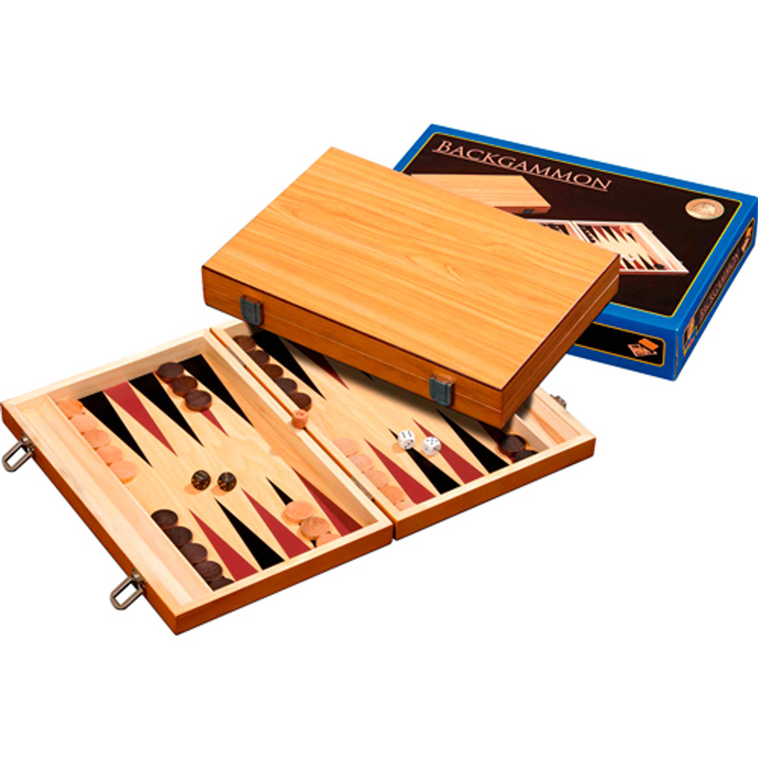 Philos Backgammon Skiathos Medium 35x235cm