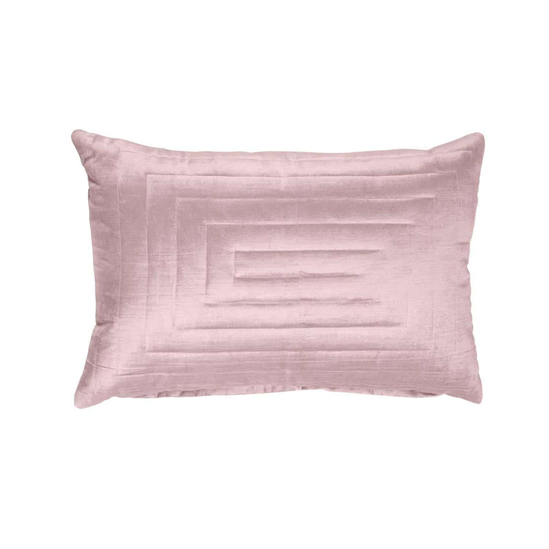 Walra Sierkussen Square Patterns 40x60 cm roze