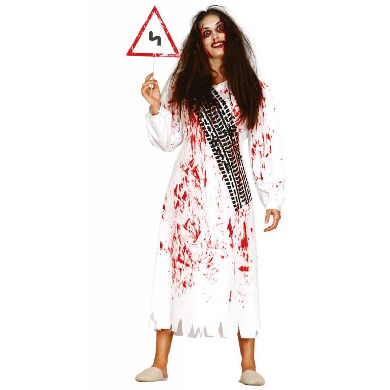 Halloween Kleding Dames.Halloween Kostuum Dames Overreden Maat Confectie Small
