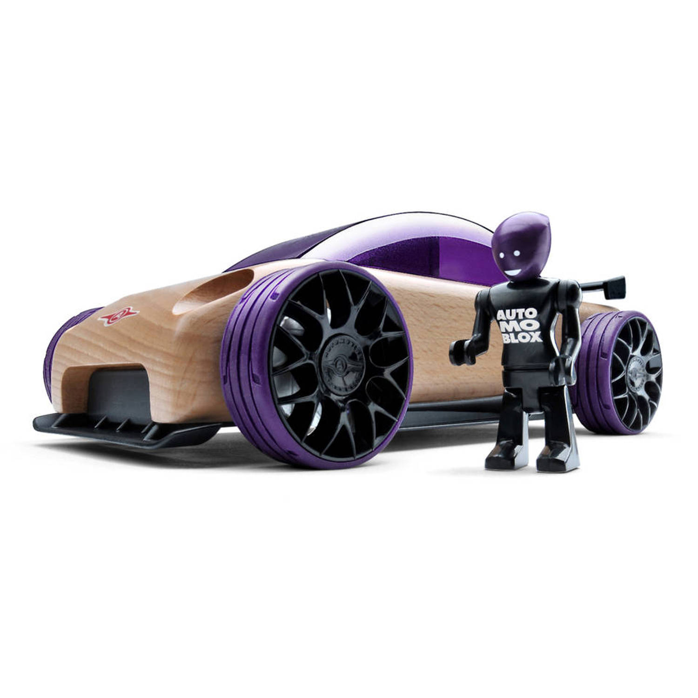 Afbeelding van Automoblox abxax002 c9-r sportauto paars