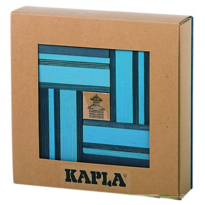 Kapla 40 stuks Blauw Met Boekje