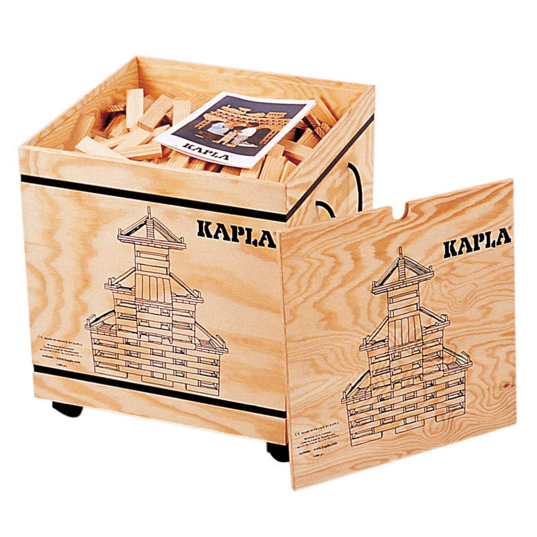 Kapla 8005 kapla: 1000 stuks in kist naturel