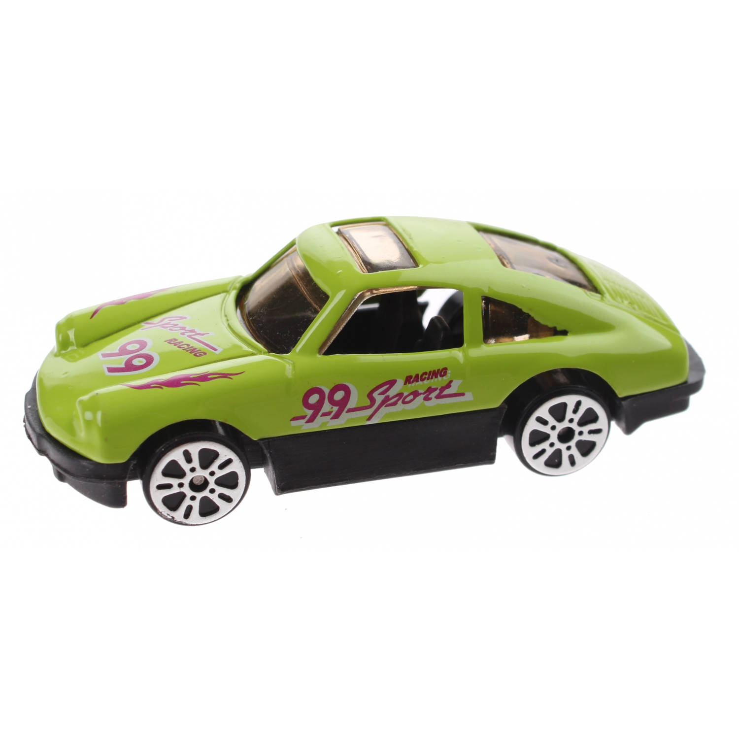 Johntoy schaalmodel super cars die-cast 7 cm lime
