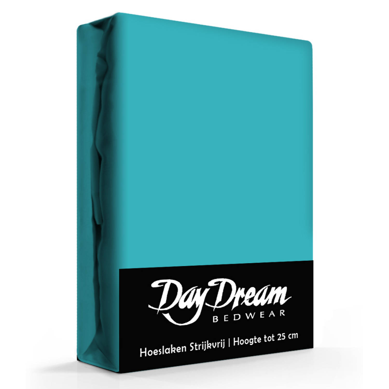 Day Dream Hoeslaken Katoen Peacoat-180 x 200 cm
