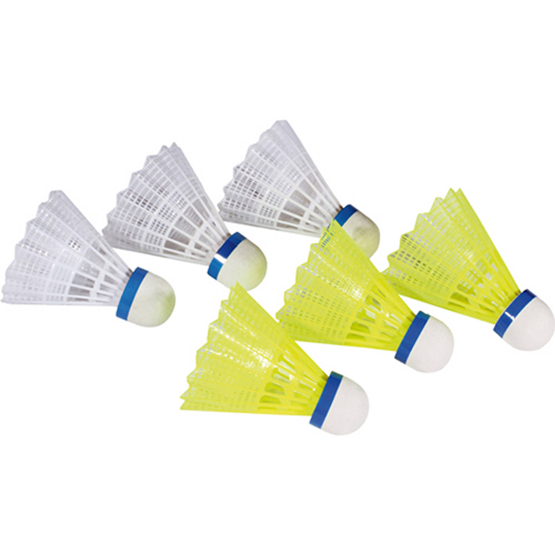 Afbeelding van Badminton shuttle nylon (6st.)