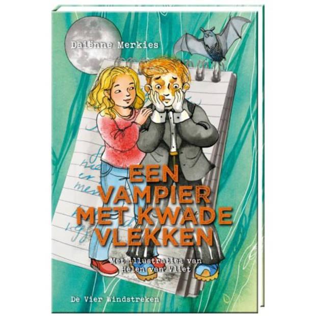 Een vampier met kwade vlekken