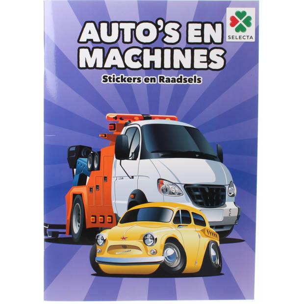 Selecta doeboek Auto's en Machines