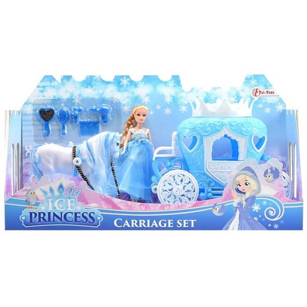 Toi-Toys ijsprinses met koets en paard