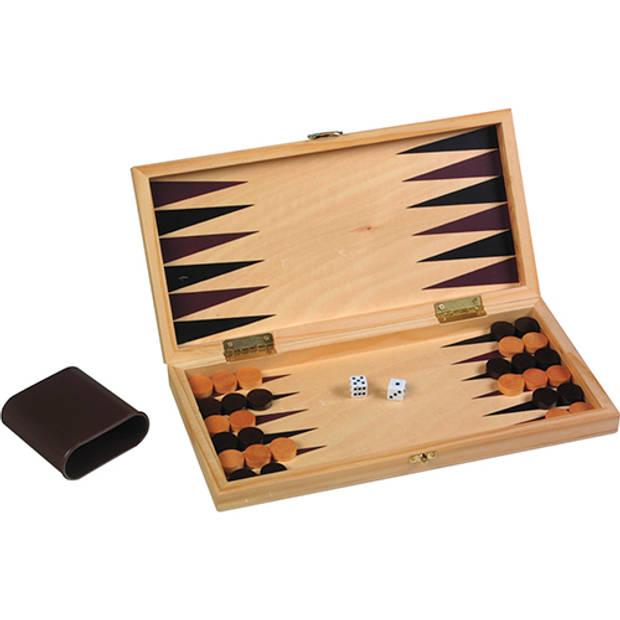 Schaak/ backgammon set