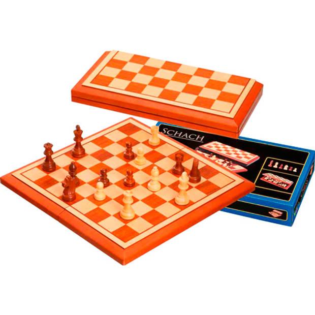 Philos schaak cassette belgrado 40x20 cm