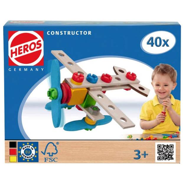 Constructor Vliegtuig, 40-delig