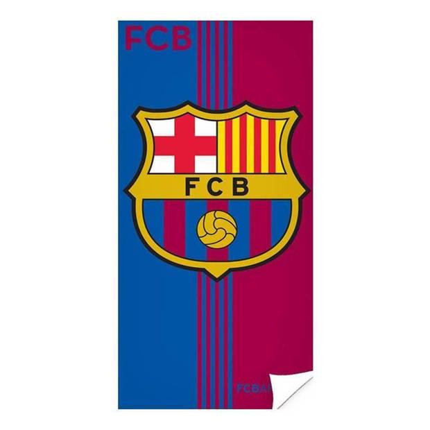 Fc barcelona strandlaken - 70x140 cm