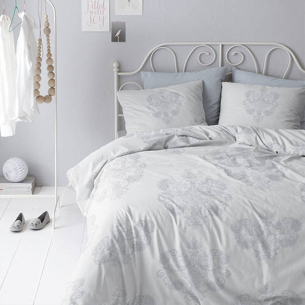 Cinderella dekbedovertrek Eloise Grey-200x200/220