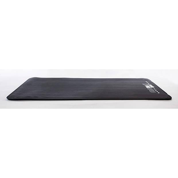 Christopeit nbr mat zwart 185 x 81 x 1.5cm
