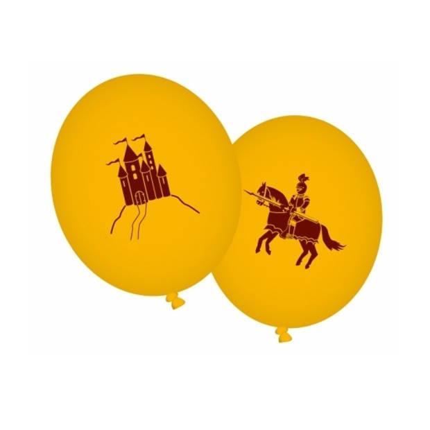 Ridder thema ballonnen