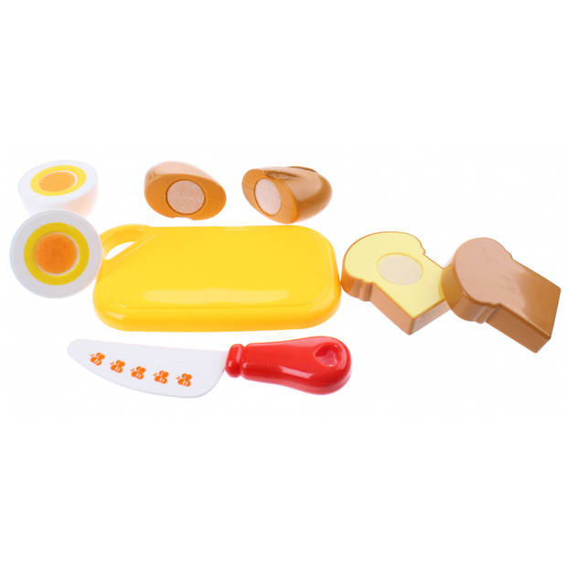 Johntoy Home and Kitchen speelset brood 8-delig