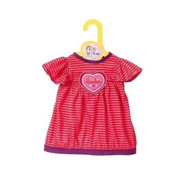 Dolly Moda nachthemd rood 18 cm