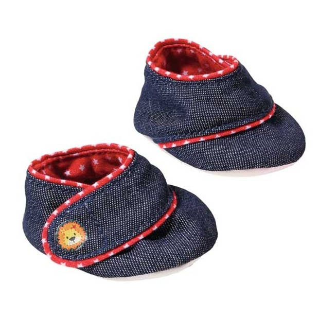 Dolly Moda Babyschoentjes blauw 2 stuks