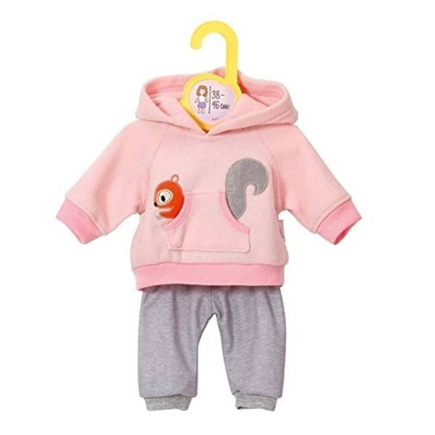 Zapf creation dolly moda sport outfit roze maat 38-46 cm