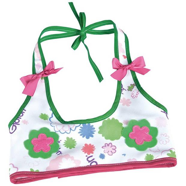 Berjuan top The Breast Milk Baby groen/roze