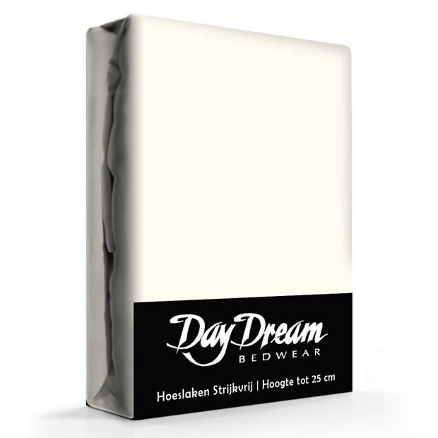 Day dream hoeslaken katoen ecru-180 x 200 cm