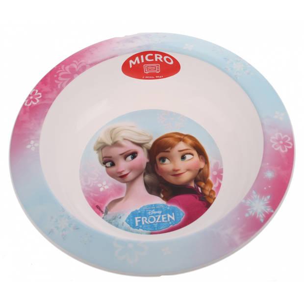 Disney Frozen kom 16 cm lichtblauw/roze