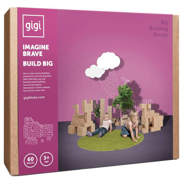 Gigi bloks g-2 60 stuks xxl