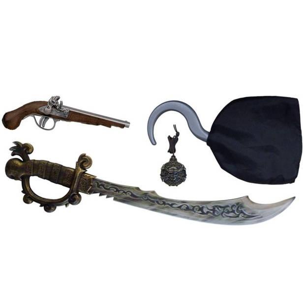 Gonher Speelset Piraten 4-delig