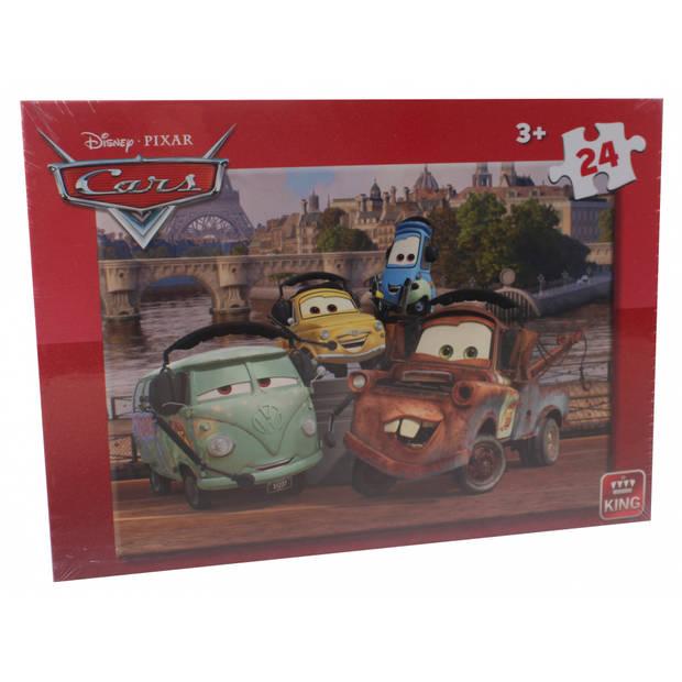 King International legpuzzel Disney Cars 24 stukjes