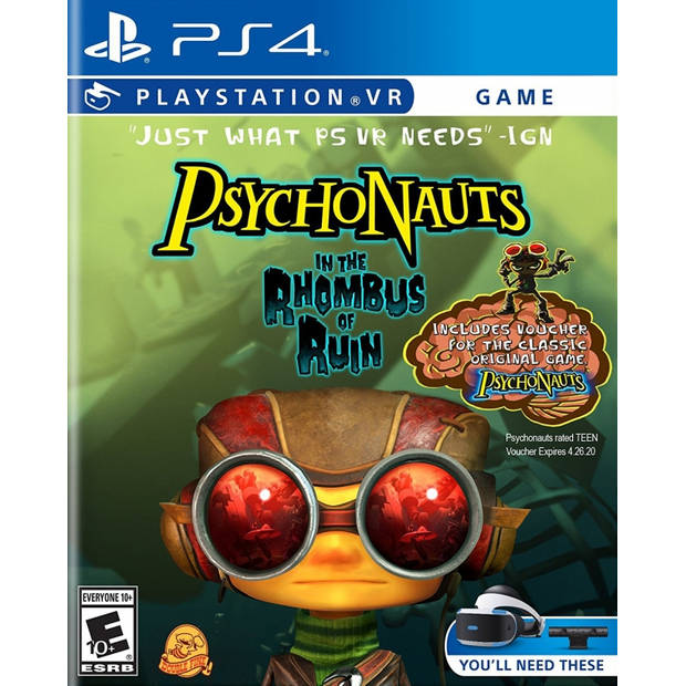 Psychonauts in the rhombus of ruin (psvr required)