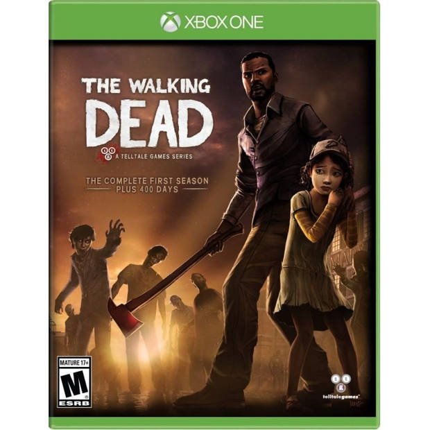 The walking dead + 400 days - xbox one
