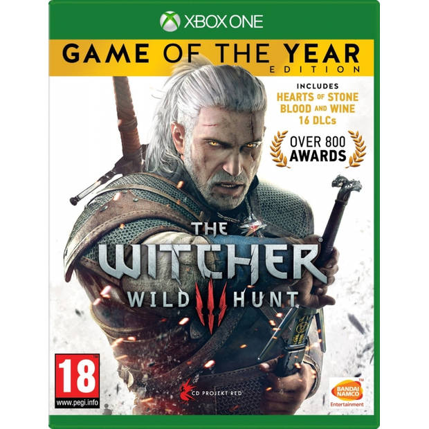 The witcher 3 wild hunt game of the year edition - xbox one