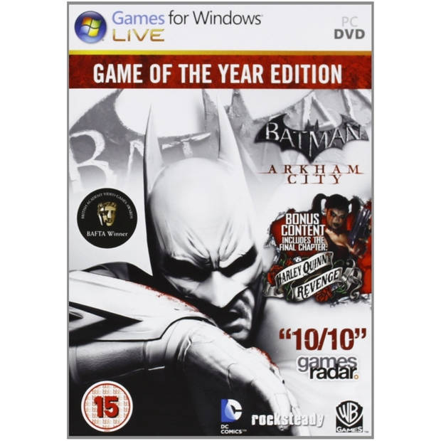 Batman arkham city (goty edition) - pc gaming