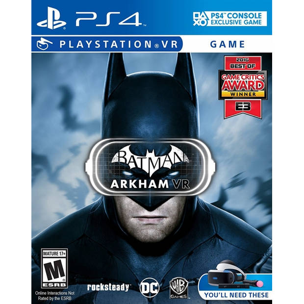 Batman arkham vr (psvr required) - ps4