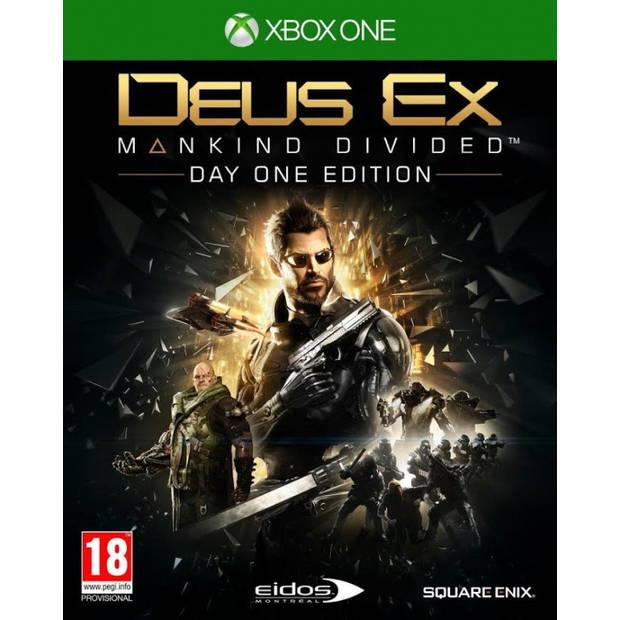 Deus ex mankind divided (day 1 edition) - xbox one