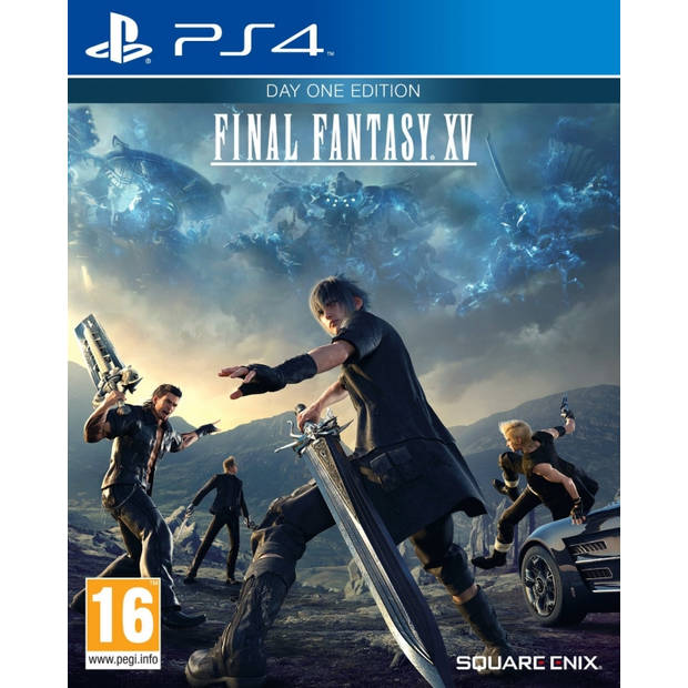 Final fantasy xv (day 1 edition) - ps4
