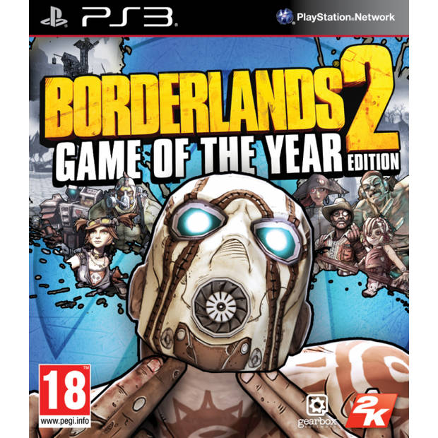 Borderlands 2 game of the year edition - ps3