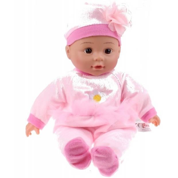 Toi-Toys babypop met tuitbeker - bloem