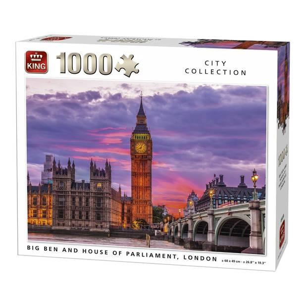 King International Bigben Clock And Parliament House London