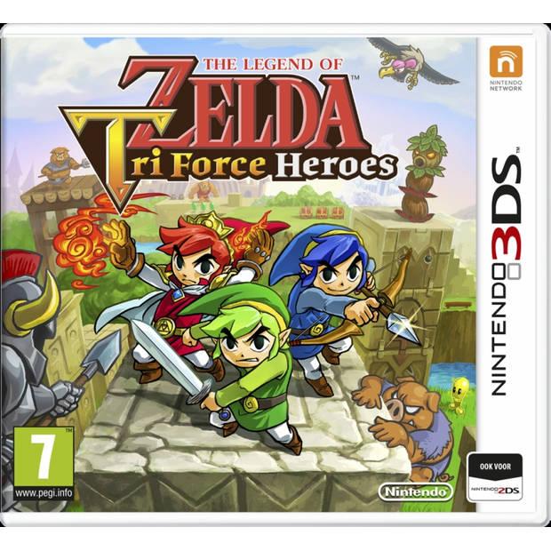 The legend of zelda tri force heroes - nintendo 3ds