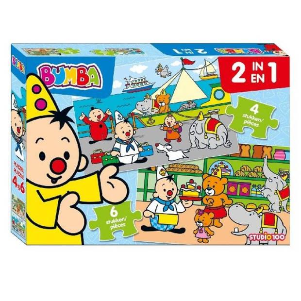 Studio 100 puzzel Bumba - 4 + 6 stukjes