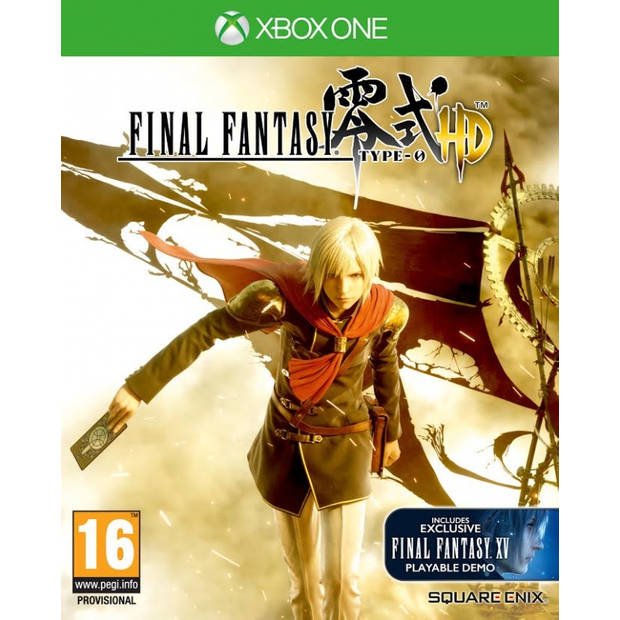 Final fantasy type 0 hd day 1 edition - xbox one