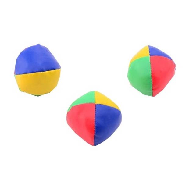Johntoy jongleerballen 5 cm 3 stuks