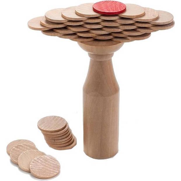 Longfield Games houten evenwichtsspel munten