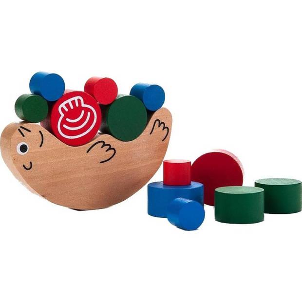 Longfield Games houten evenwichtsspel zeehond