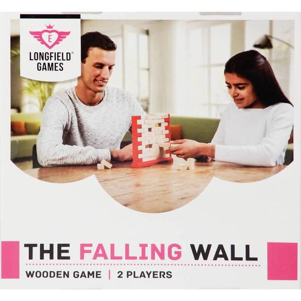 Longfield Games houten evenwichtsspel vallende muur