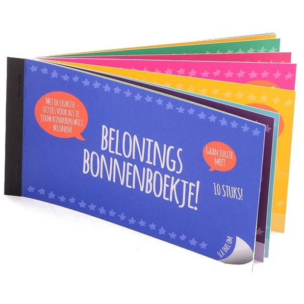 Johntoy beloningsboekje kinderen 10 beloningen