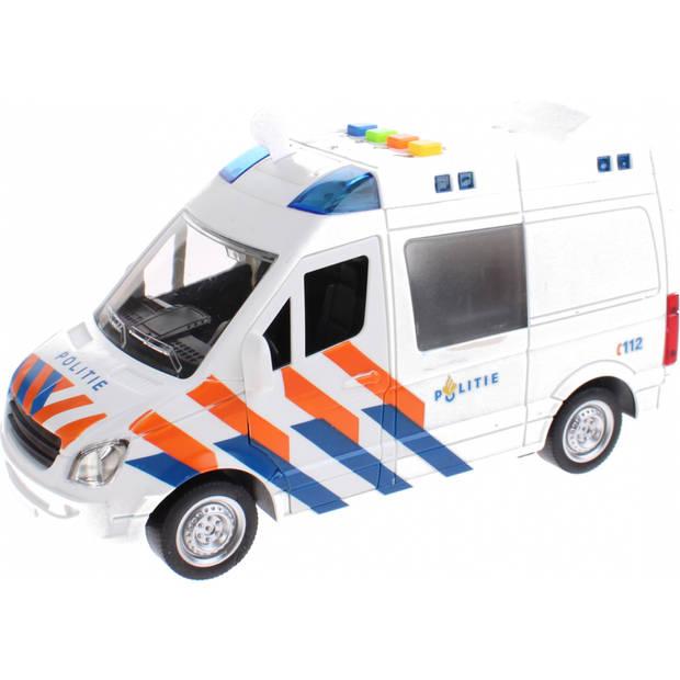 Toi-Toys politiebus met licht en geluid