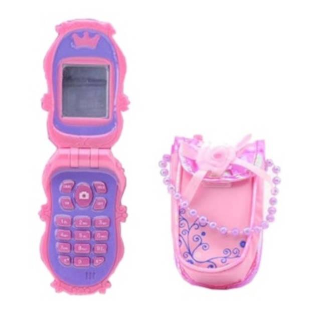 Johntoy mobiele telefoon met tasje